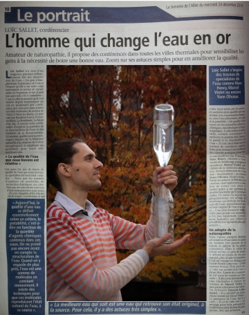 L'homme qui change l'eau en or